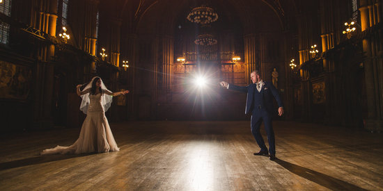 This 'Harry Potter'-Themed Wedding Is Positively Spellbinding