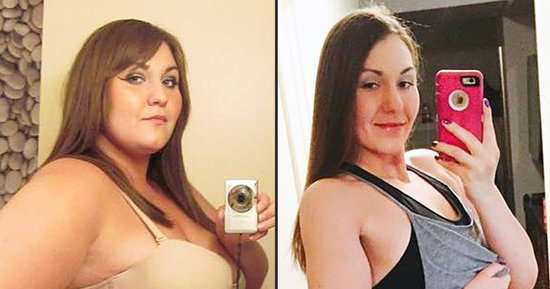 This Woman Lost 210 Pounds: See Her Incredible Before-and-After Photos