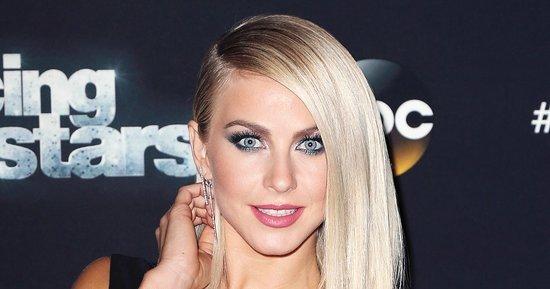 How Julianne Hough Maintains Her Platinum Blonde Permed Hair
