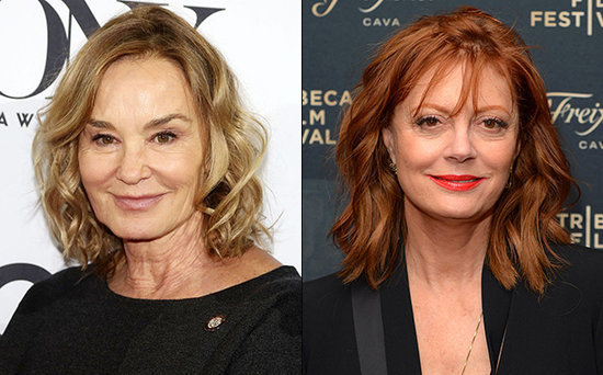 FROM EW: Susan Sarandon and Jessica Langeto Play Bette Davis and Joan Crawford for Ryan Murphy