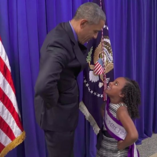 Barack Obama Meets Girl Who Wrote Him Letter in Flint, MI