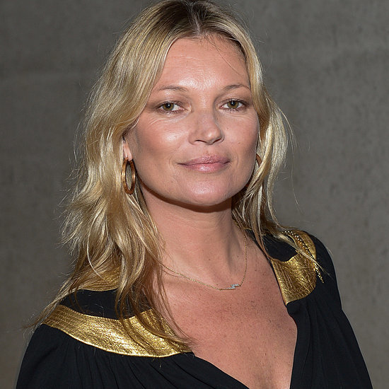 Kate Moss Wearing Mary Jane Shoes