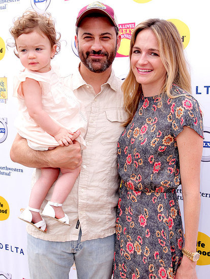 Forget Halloween! Jimmy Kimmel's Daughter Jane Ruined His Mother's Day Dinner - See the Hilarious Photos