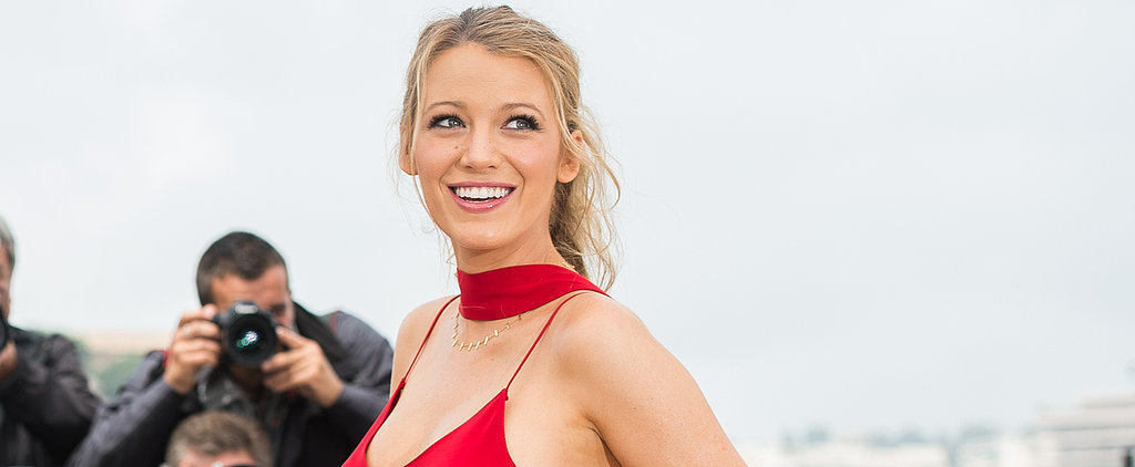 Blake Lively Just Brought This Killer Styling Trick to Cannes —and Now We Just Might Try It