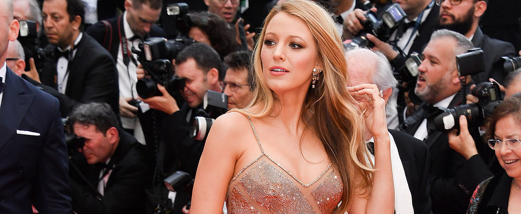 Blake Lively Dressed Her Baby Bump in Sequins and Cut-Outs For Cannes