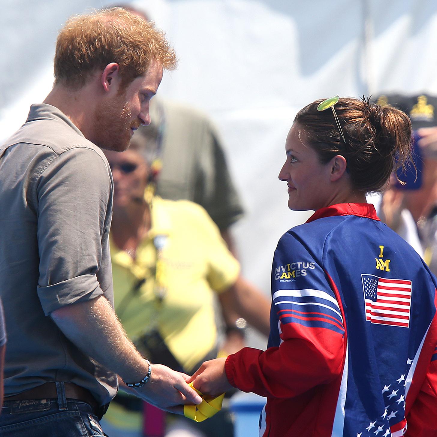 Veteran Returns Medal To Prince Harry (Video)