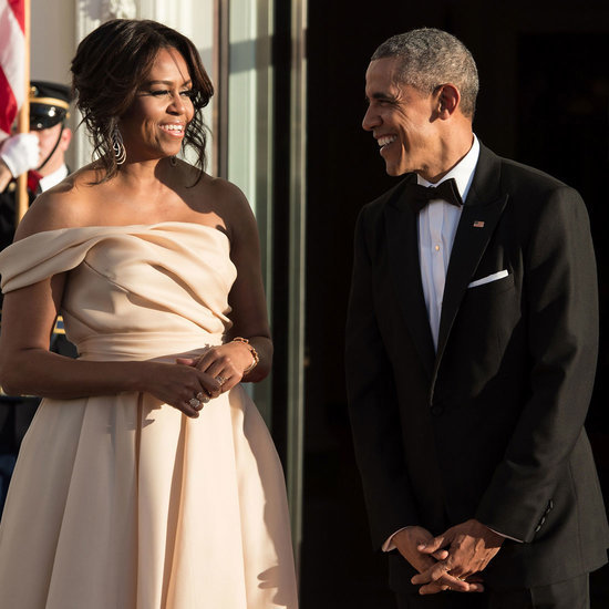 Michelle Obama's Naeem Khan Gown at the Nordic State Dinner
