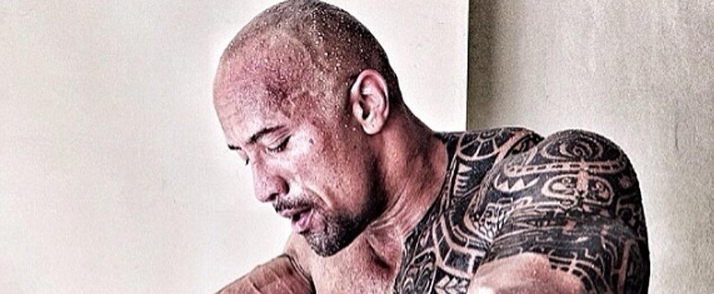 27 Shirtless Photos of Dwayne Johnson Guaranteed to Get Your Heart Racing