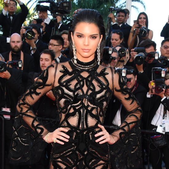 Kendall Jenner's Sheer Dress at Cannes 2016