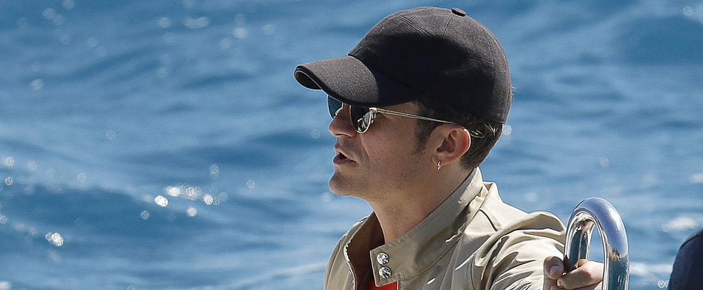 Orlando Bloom Touches Down in the South of France Following Cheating Rumors