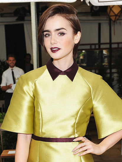 Lily Collins Threw Us A Curveball With Her New Hair Color