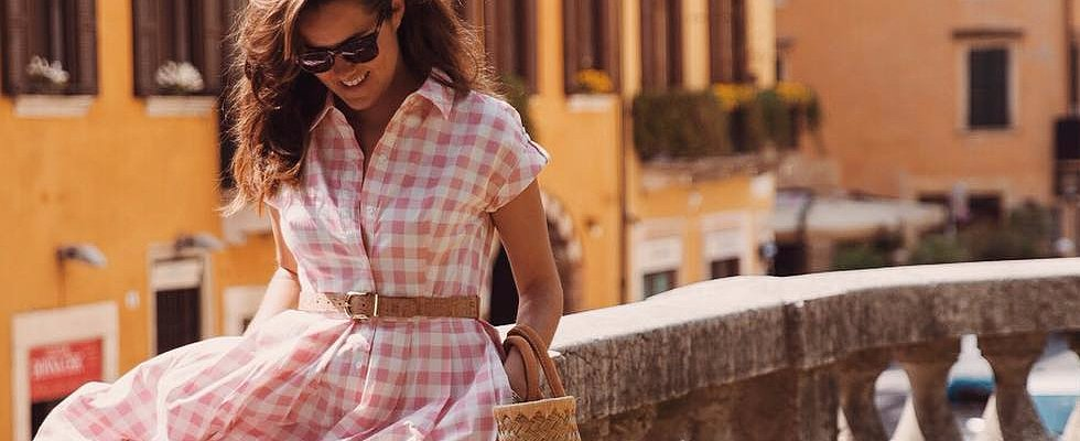 32 Gorgeous Real-Life Gingham Looks That'll Get You Ready For Summer