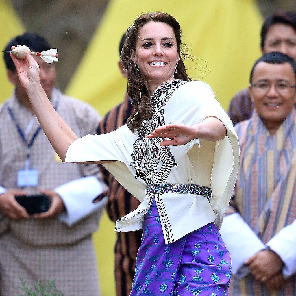 Kate Middleton Playing Sports