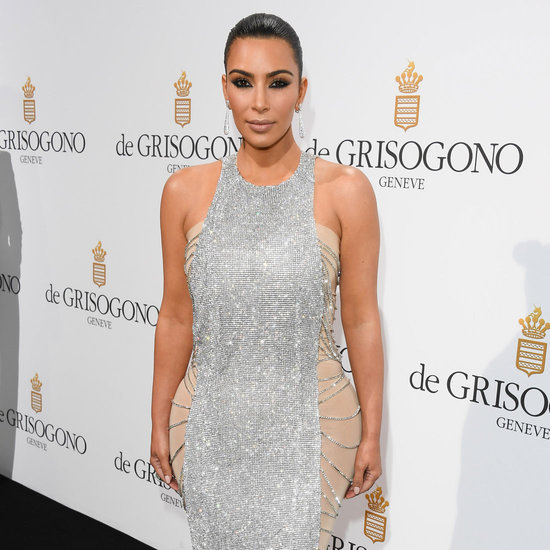 Kim Kardashian's Sequin Dress at Cannes