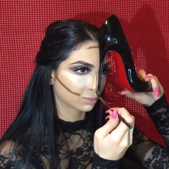 How to Contour With a High Heel