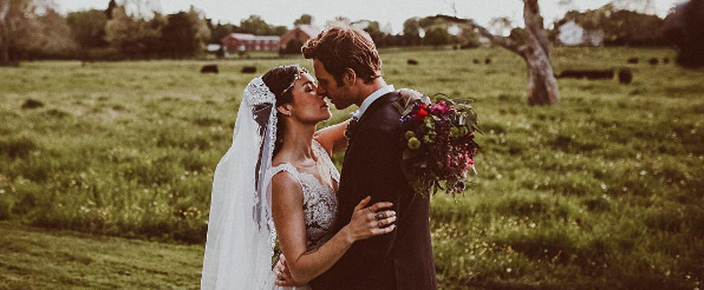 This Chicago Med Star's Bride Wore an Absurdly Gorgeous Wedding Gown