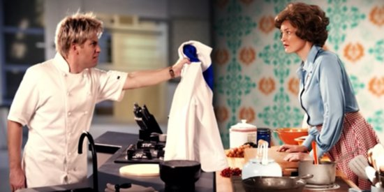 Gordon Ramsay And Julia Child Have A Rap War, And It's Tasty