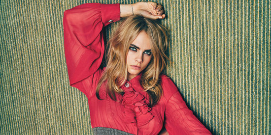 Cara Delevingne Prepared For 'Suicide Squad' By Getting Naked In A Forest
