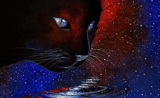 Raphaël Vavasseur's Cat Art Mixes Comics With the Classics
