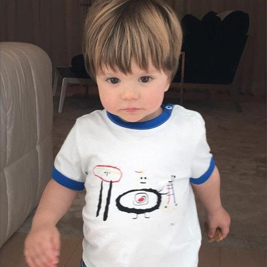 Shakira's Son Sasha Instagram May 2016