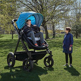 This Giant Stroller Lets You Test What It's Like For a Baby to Ride in One