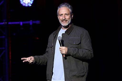 Jon Stewart Adopts Pony Hit With 125 Paintballs