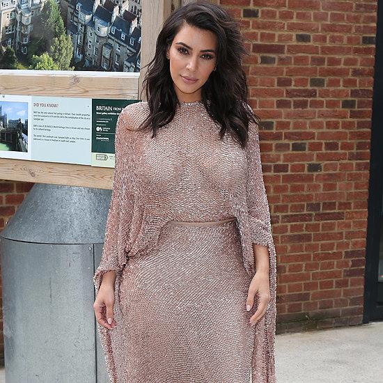 Kim Kardashian Dress at Vogue Festival in London 2016