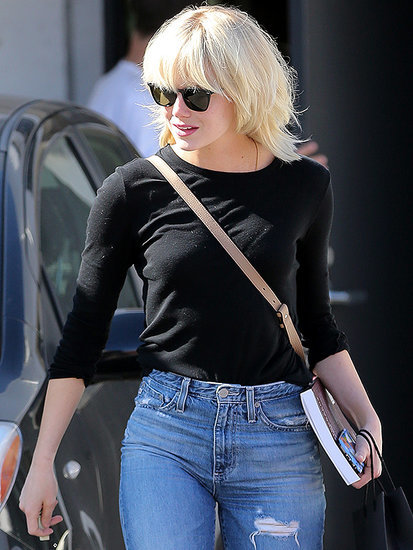 Emma Stone Pulls a Taylor Swift with New Platinum Blonde Hairstyle