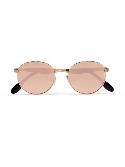 Must-Have: Ray-Ban's Gold-Plated Round Frames