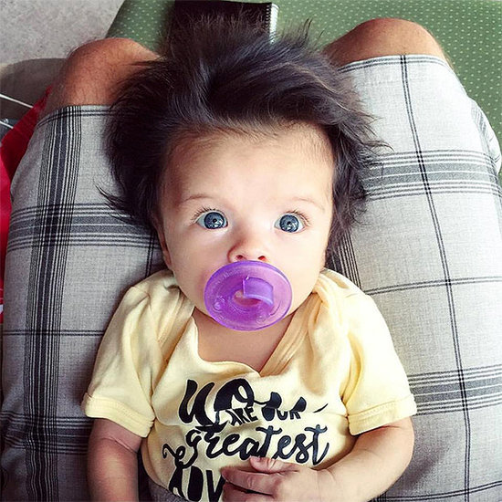 The Internet Can't Get Enough of This Baby's Enviable (and Gravity-Defying) Hair!