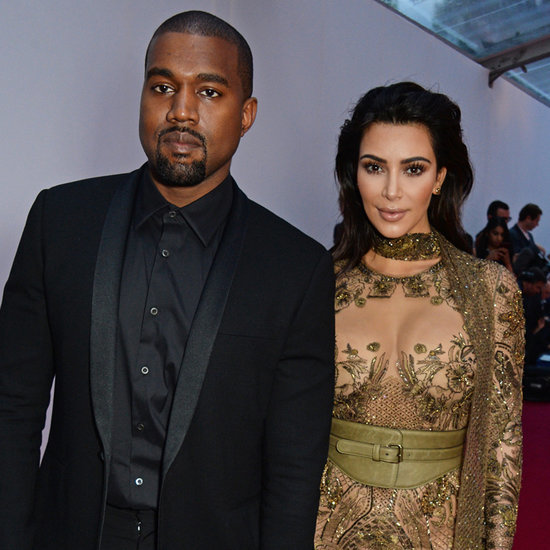 Kim Kardashian and Kanye West at Vogue 100 Gala Dinner 2016