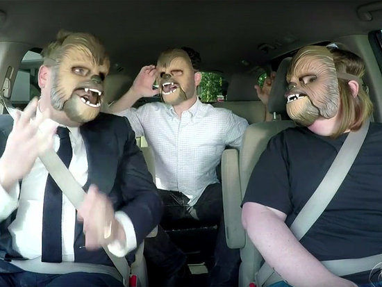 James Corden Is Not Impressed with Chewbacca Mom in Hilarious New Sketch - and You'll Never Guess Who Shows Up