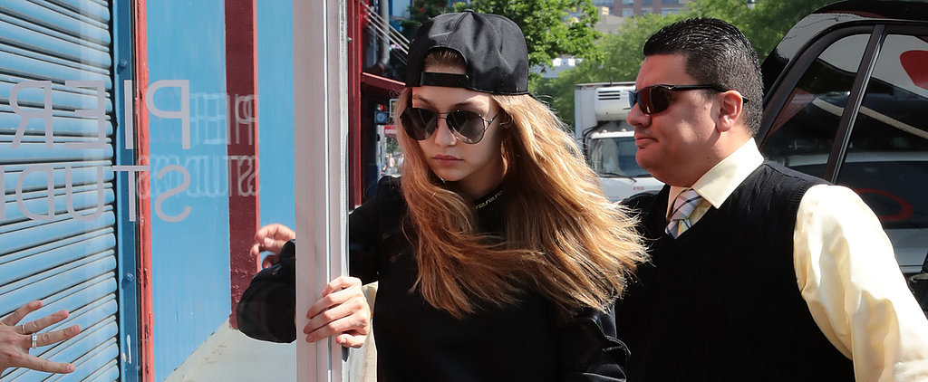 Gigi Hadid Shows Us the 1 Trick For Making a Casual Outfit Look Fancy