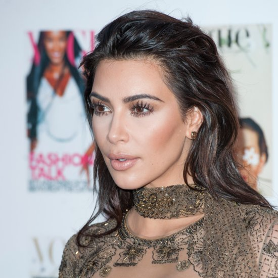 Kim Kardashian Is Over Contouring