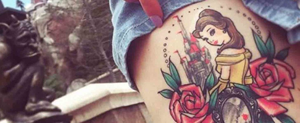15 Beauty and the Beast-Themed Tattoos to Inspire Your Next Magical Ink