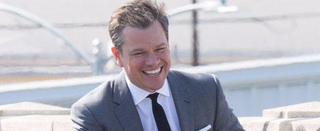 Matt Damon Strikes a Series of Sexy, Smiley Poses For an Upcoming Magazine Spread
