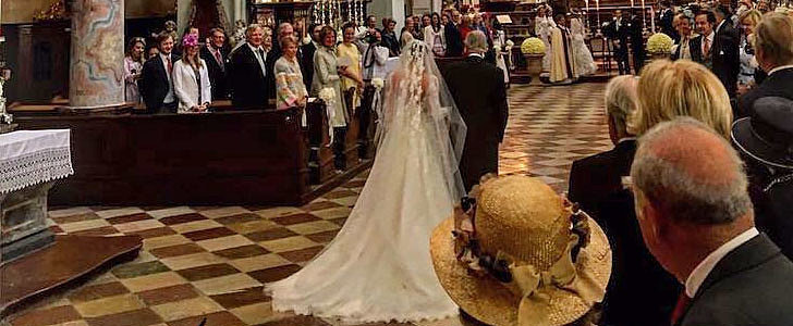 A Minute Staring at This Bride's Wedding Gown, and You'll Swear You Stepped Into a Fairy Tale