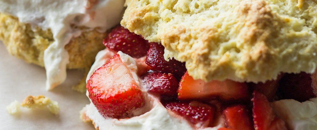 This Rosé-Infused Strawberry Shortcake Is the Best Boozy Dessert