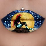 This Makeup Artist Uses Her Lips as a Canvas For Miniature Masterpieces