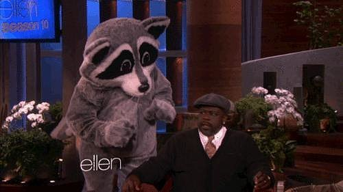 Ellen DeGeneres Scaring Cedric the Entertainer