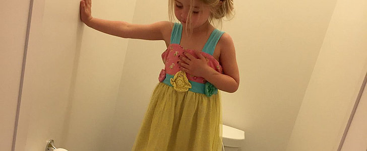 Why This Photo of a Little Girl Standing on a Toilet Will Keep You Up at Night