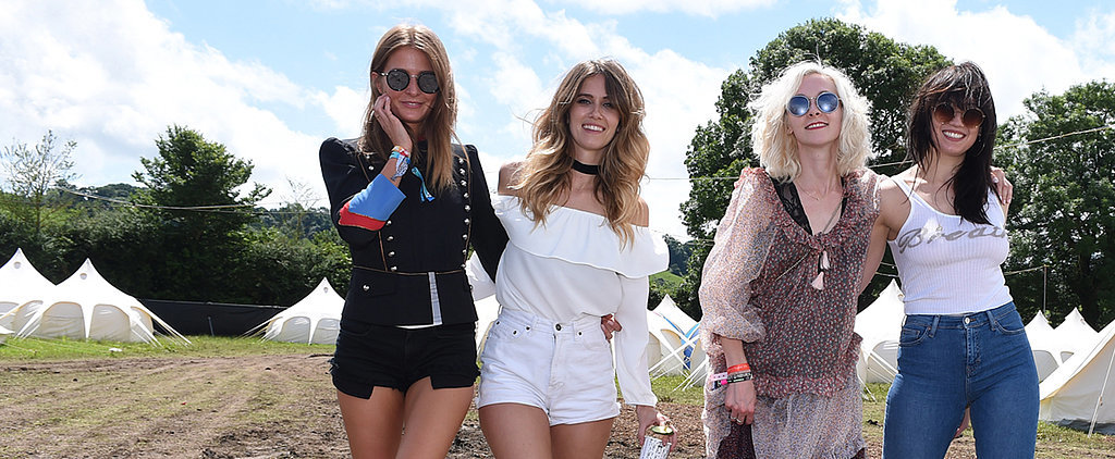 All the Celebrity Sightings at Glastonbury Festival 2016