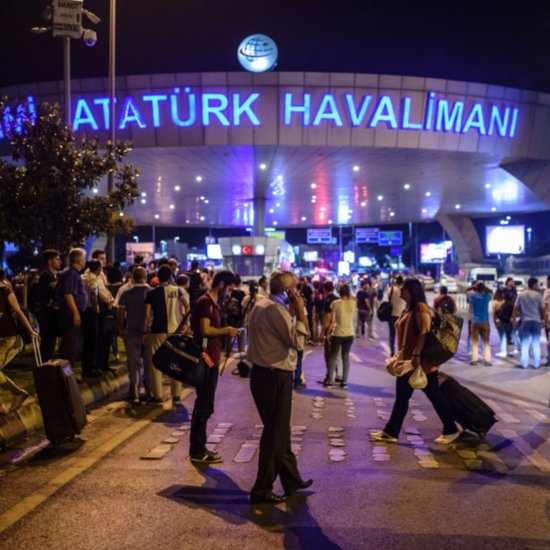 Attack on Istanbul Ataturk Airport 2016