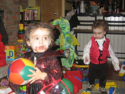 Vampires Like Their Play Time Too!