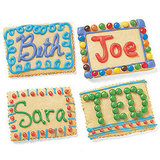 Tasty Place Card Cookies