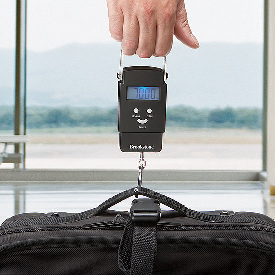 For the Jetsetter: Portable Digital Luggage Scale