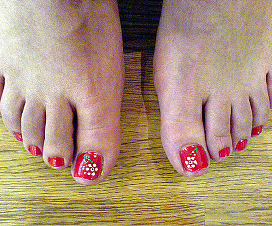 Toes the Line