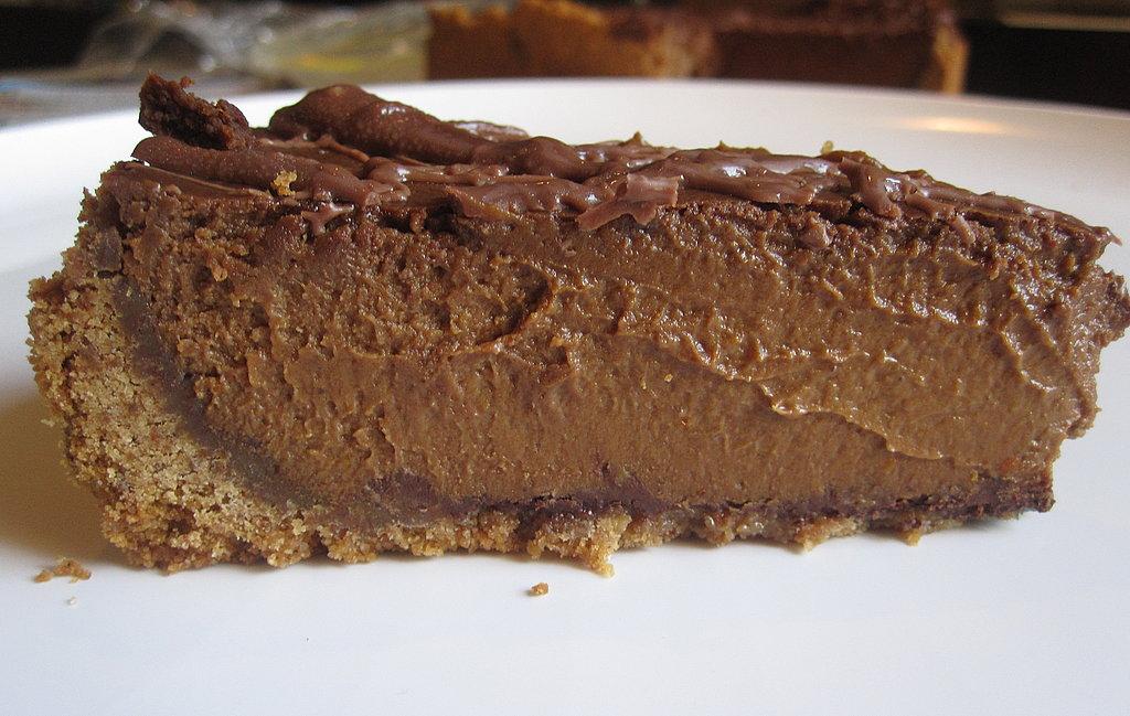Triple Chocolate Pumpkin Pie Recipe | POPSUGAR Food
