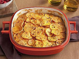Smoked Chile Scalloped Sweet Potatoes