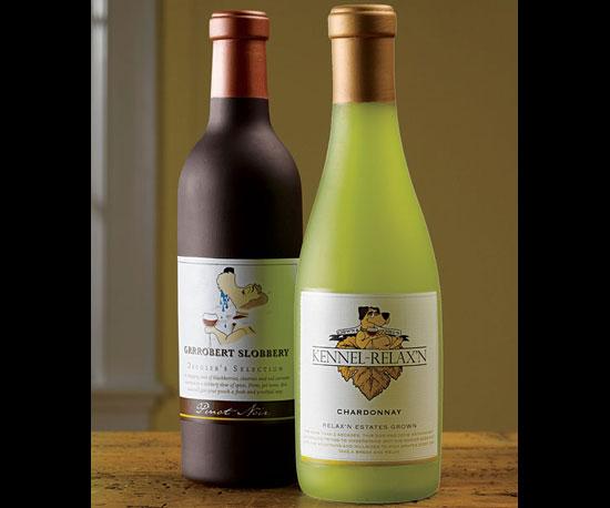 Wine Bottle Squeak Toy